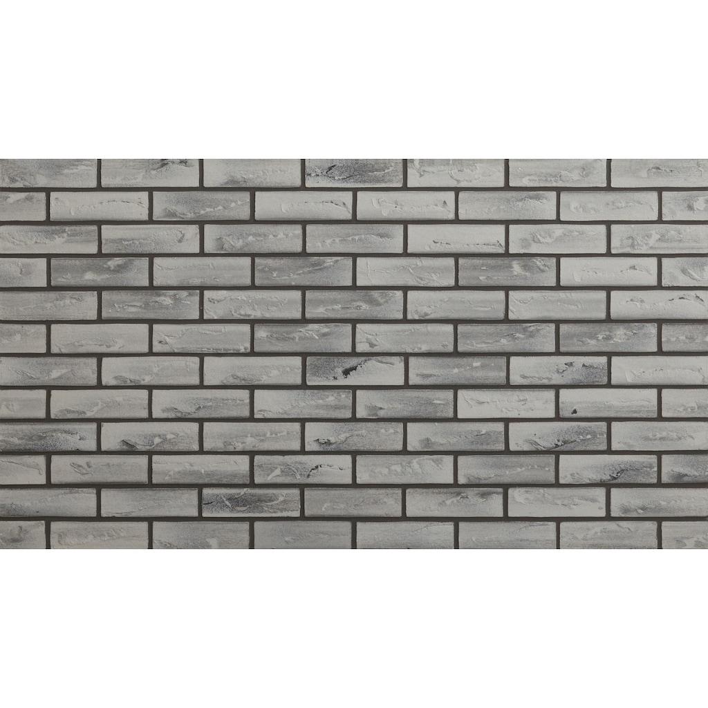 ELASTOLITH Verblender »Nebraska«, grau, für Außen- und Innenbereich, 5 m²