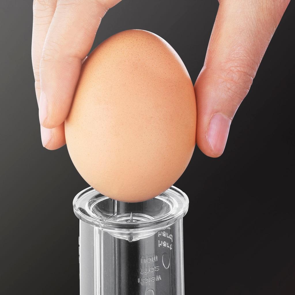 Krups Eierkocher »F23070«, für 7 St. Eier, 400 W, mit Wasserstandsanzeige, Koch- und Warmhaltefunktion, Weiß