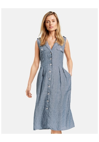 GERRY WEBER Kleid Gewebe »Blusenkleid aus reinem Leinen« kaufen