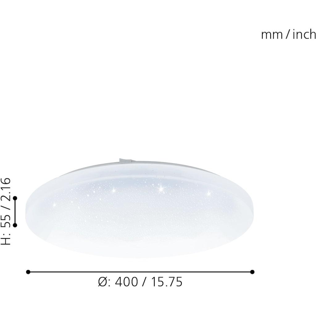 EGLO Deckenleuchte »FRANIA-A«, LED-Board, Extra-Warmweiß-Kaltweiß-Neutralweiß-Tageslichtweiß-Warmweiß, Steuerung über Fernbedienung, Nachtlicht