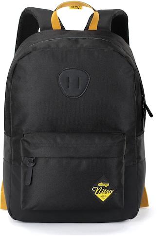 NITRO Freizeitrucksack »Urban Classic, Golden Black«, mit Laptopfach kaufen