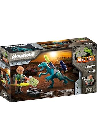 Playmobil® Konstruktions-Spielset »Deinonychus - Verteidigung mit Doppel-Blaster... kaufen