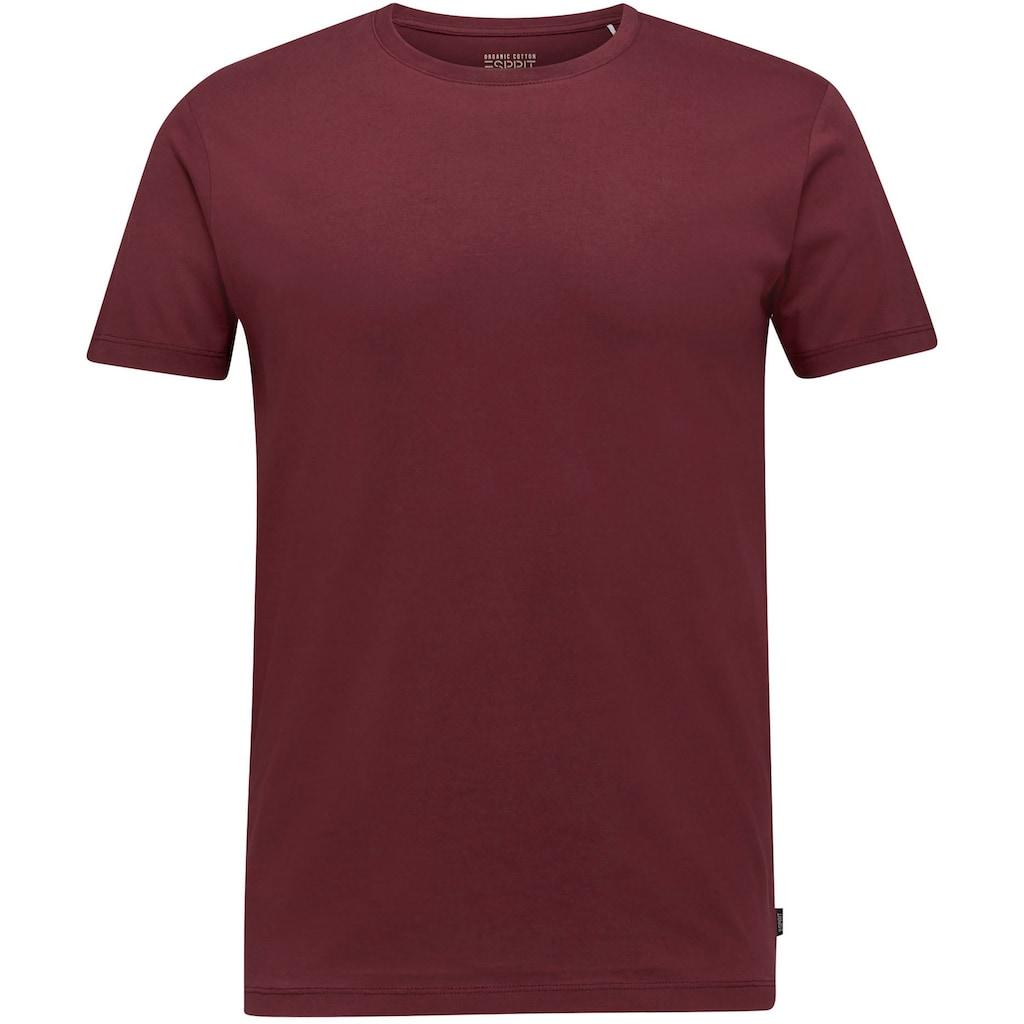 Esprit T-Shirt, in angenehmer Qualität
