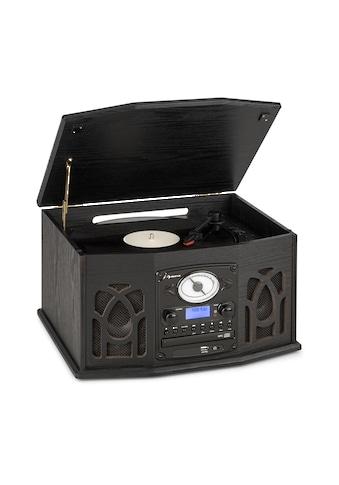 Auna DAB Stereoanlage Holz Plattenspieler DAB+ CD - Player »MG - NR - 620 - DAB« kaufen