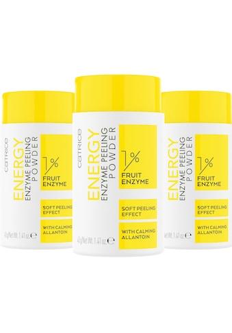 Catrice Gesichtspeeling »Energy Enzyme Peeling Powder«, (Set, 3 tlg.) kaufen