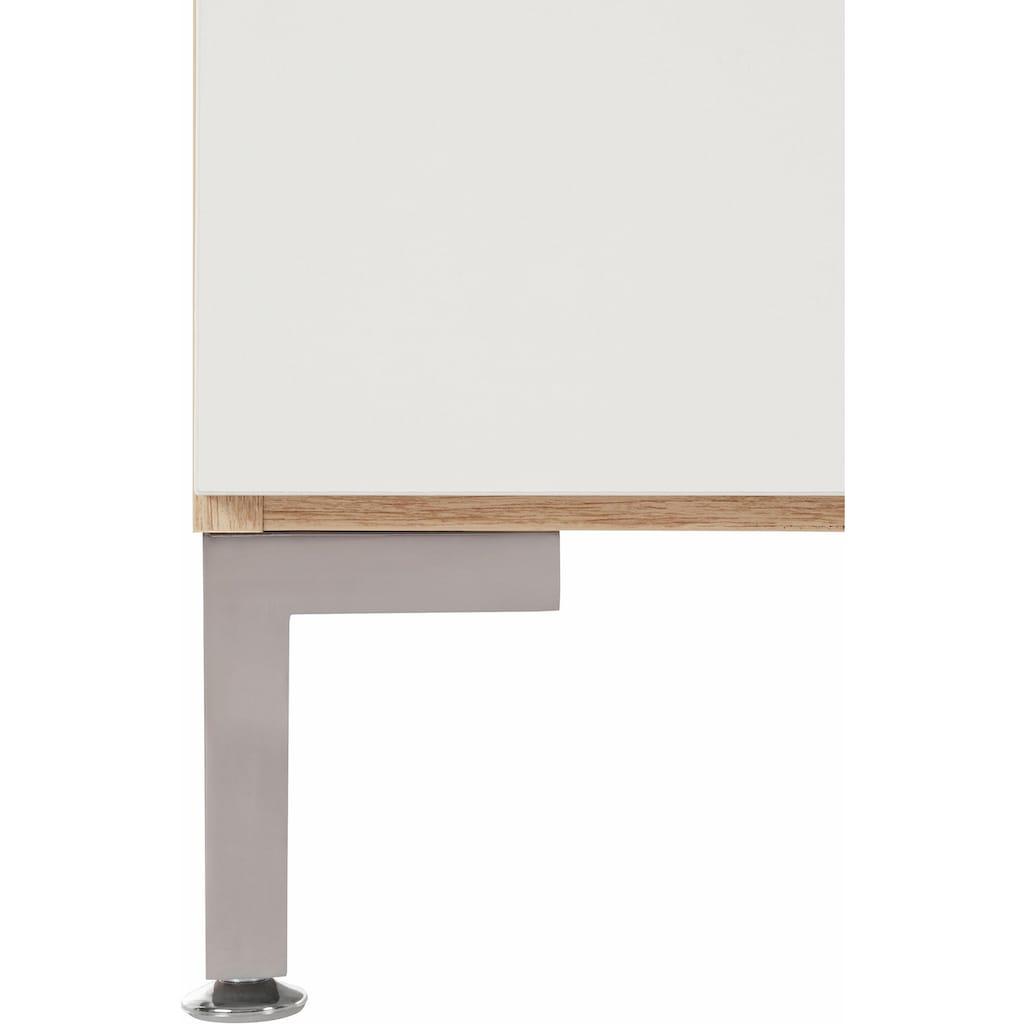 INOSIGN Sideboard »Greta«, mit schönen Fräsungen auf den Schubladenfronten, Breite 195 cm