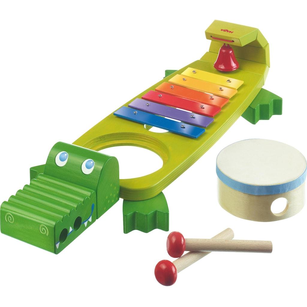 Haba Spielzeug-Musikinstrument »Klang-Kroko«