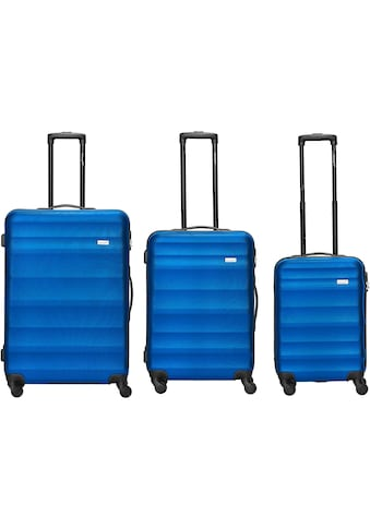 """Packenger Trolleyset """"Timber, Blau"""", 4 Rollen, (3tlg.) kaufen"""