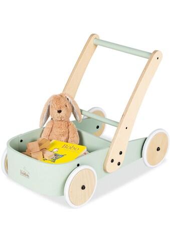 Pinolino® Lauflernwagen »Fiete, grün«, aus Holz kaufen