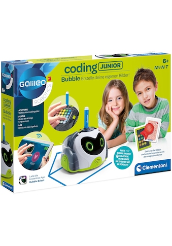Clementoni® Experimentierkasten »Galileo Coding Junior Bubble«, mit kostenloser app;... kaufen