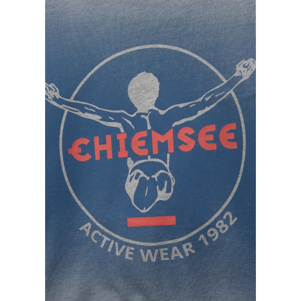 Chiemsee Langarmshirt, mit Farbverlauf