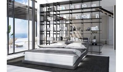 SalesFever Polsterbett, mit LED-Beleuchtung und Fernbedienung, Lounge Bett inklusive... kaufen