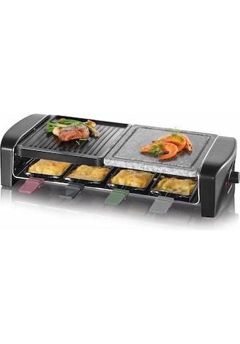 Severin Raclette RG 9645, 8 Raclettepfännchen, 1400 Watt kaufen