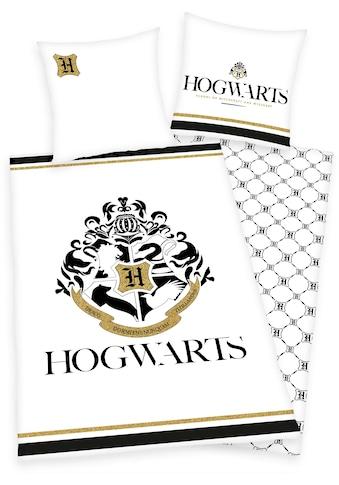 Wendebettwäsche »Hogwarts«, mit Hogwarts Logo kaufen