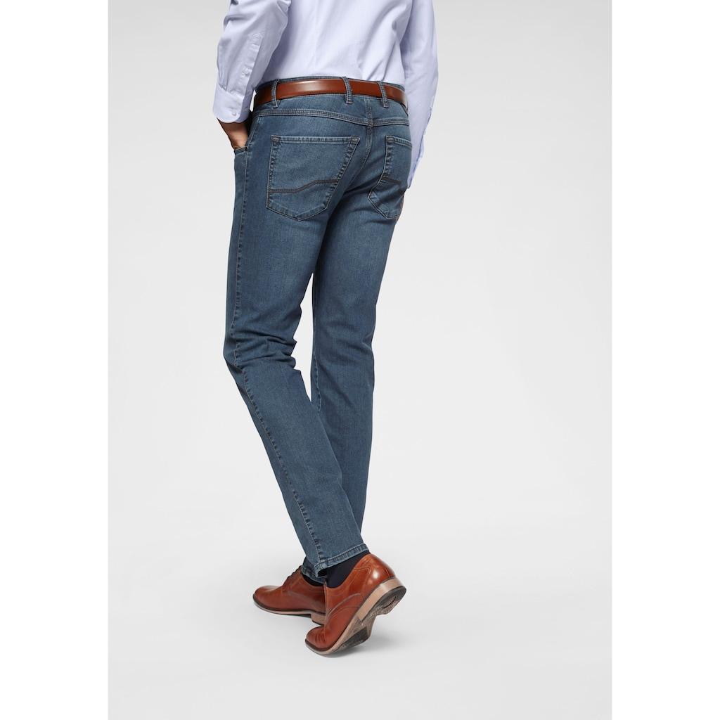 bugatti Regular-fit-Jeans »Flexcity«, passt sich der Bewegung an