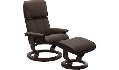 Stressless® Relaxsessel »Admiral«, mit Hocker, mit Classic Base, Größe M & L, Gestell... kaufen