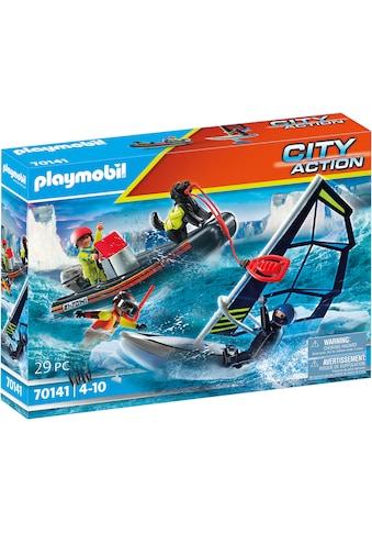 Playmobil® Konstruktions-Spielset »Seenot: Polarsegler-Rettung mit Schlauchboot... kaufen