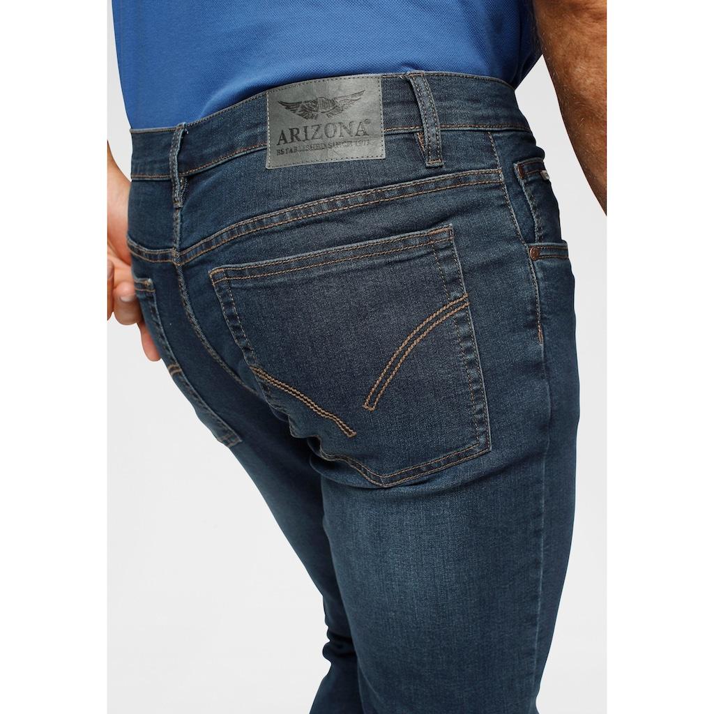 Arizona Straight-Jeans, mit recyceltem Polyester-Anteil