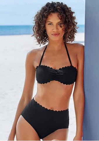 LASCANA Bandeau - Bikini - Top »Scallop« kaufen