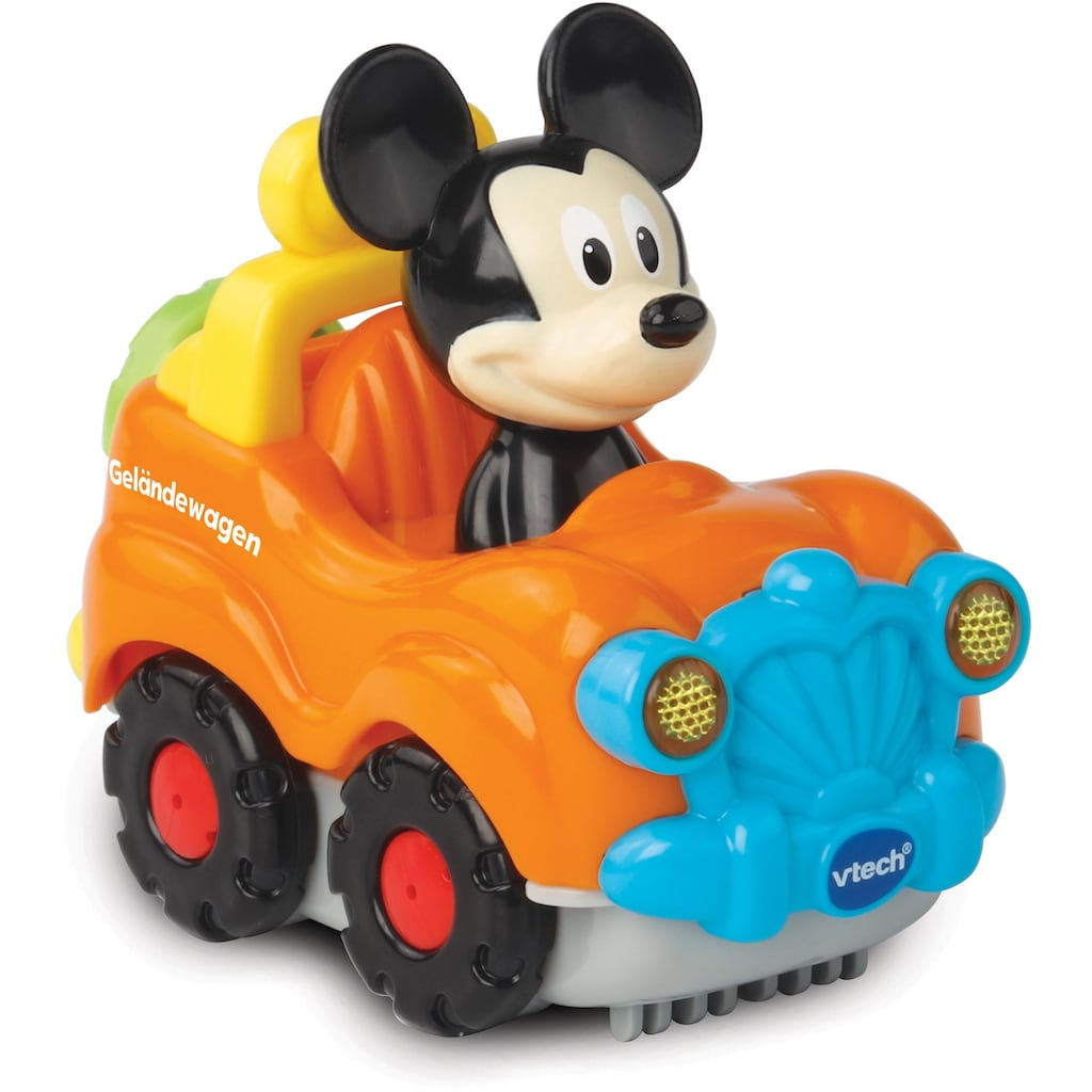 Vtech® Spielzeug-Auto »Tut Tut Baby Flitzer Mickys Geländewagen«, mit Licht und Sound