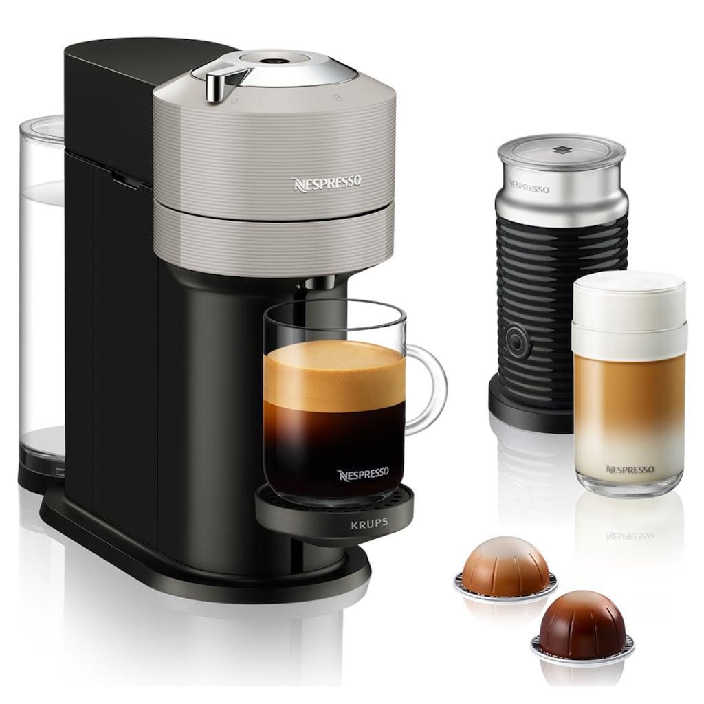 Nespresso Kapselmaschine »XN911B Vertuo Next«, inkl. Aeroccino 3, neuartiges Kapselsystem, 54% aus recyceltem Material