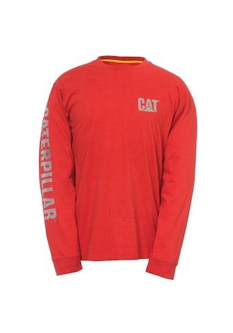 CATERPILLAR T-Shirt »Herren mit Logo, langärmlig« kaufen