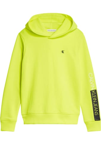 Calvin Klein Jeans Kapuzensweatshirt »LOGO SLEEVE HOODIE« kaufen