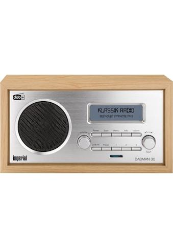 IMPERIAL by TELESTAR Digitalradio (DAB+) »DABMAN 30«, (Digitalradio (DAB+)-FM-Tuner),... kaufen