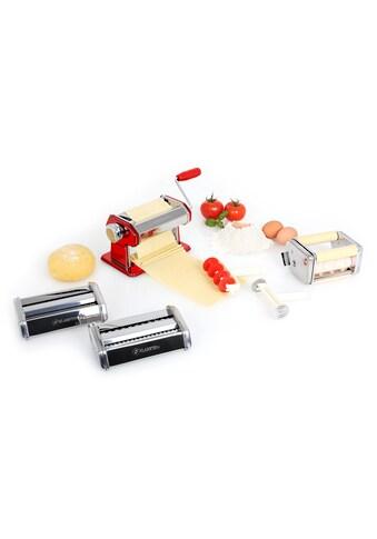 Klarstein Pasta Maker Nudelmaschine 3 Aufsätze handbetrieb kurbelantrieb »Siena« kaufen
