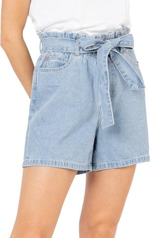 SUBLEVEL Jeansshorts, mit Bindegürtel kaufen