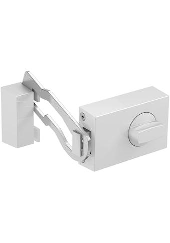 BASI Türzusatzschloss »Dornmaß 45 mm  -  silber (eckig), Sperrbügel«, Kastenschloss KS 500 kaufen