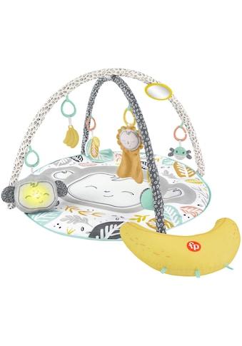 Fisher-Price® Spielbogen »Äffchen Spieldecke«, mit Bananen Spielkissen, Licht und Sound kaufen