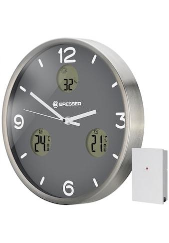 BRESSER Wanduhr »MyTime io NX mit Thermometer und Hygrometer« kaufen