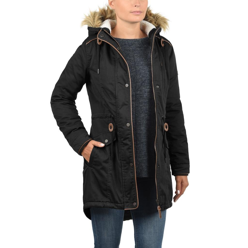 DESIRES Parka »Anna«, warme Jacke mit Kunstfell-Kapuze