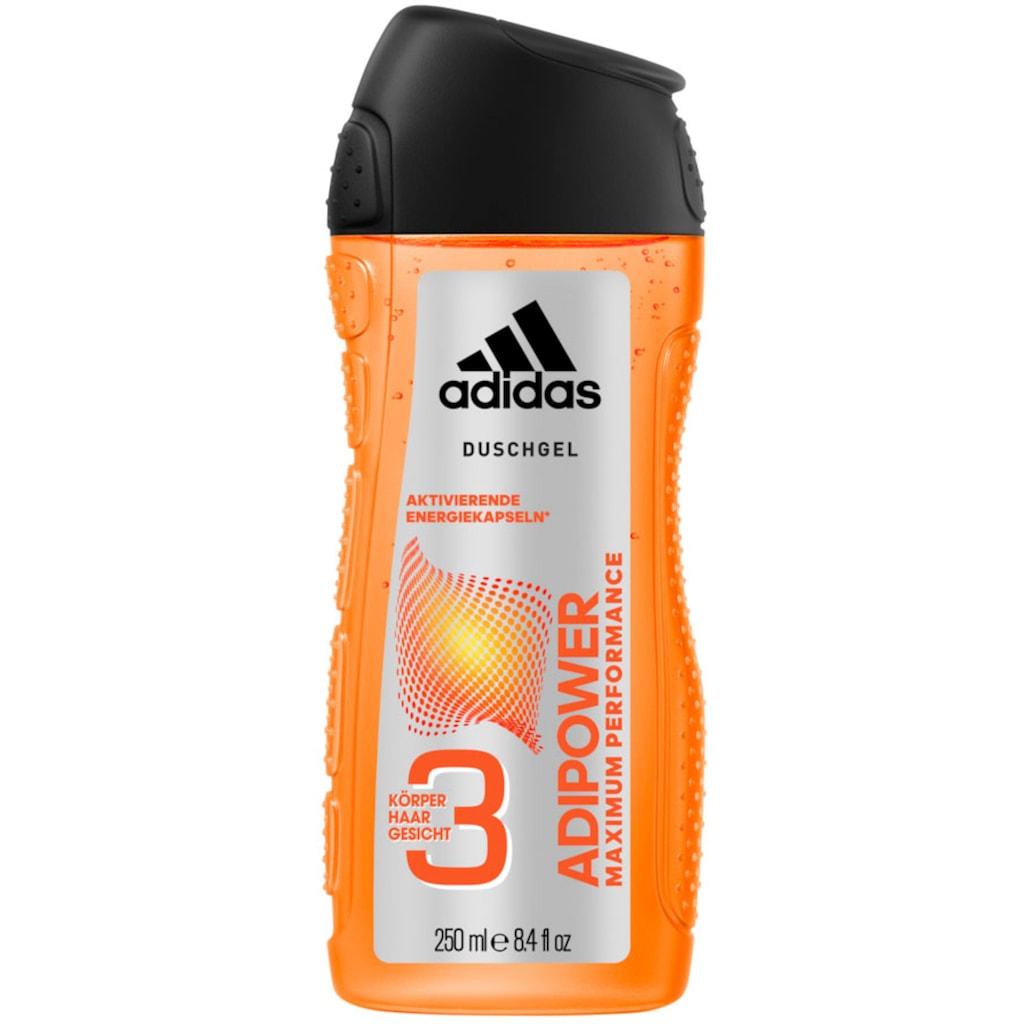 adidas Performance Duschgel »adipower 3in1«, (Spar-Set, 6 tlg.), für Männer