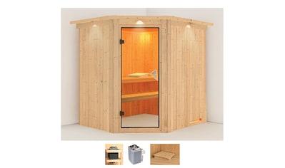 Karibu Sauna »Stine«, 4,5-kW-Ofen mit integrierter Steuerung kaufen