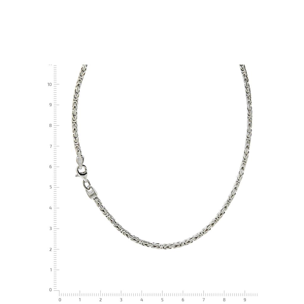 Firetti Königskette »Königskettengliederung 4-kant, 2,2 mm breit«, Made in Germany