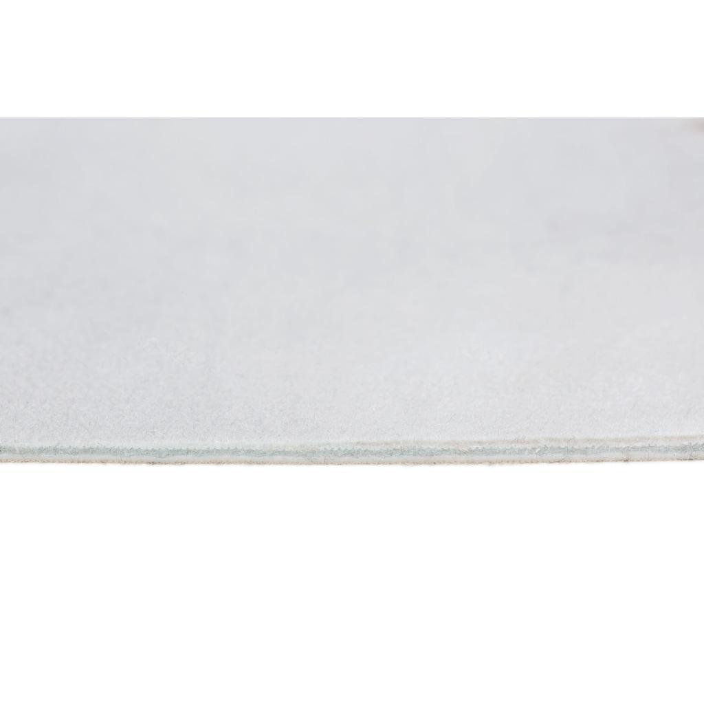 Andiamo Fellteppich »Amarillo«, fellförmig, 4 mm Höhe, Kunstfell, gedruckte Kuhfell-Optik, Wohnzimmer