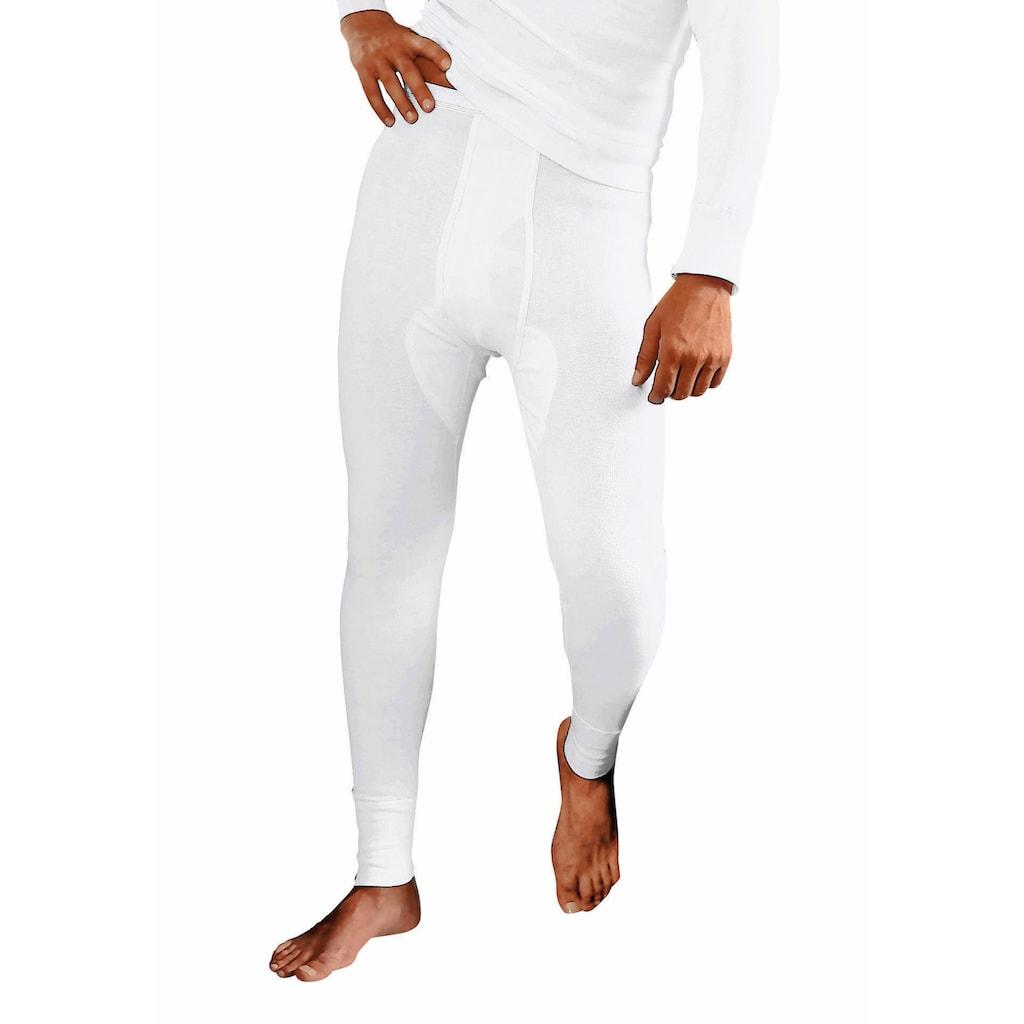 Clipper Lange Unterhose, (2 St.), aus Feinripp, mit Eingriff
