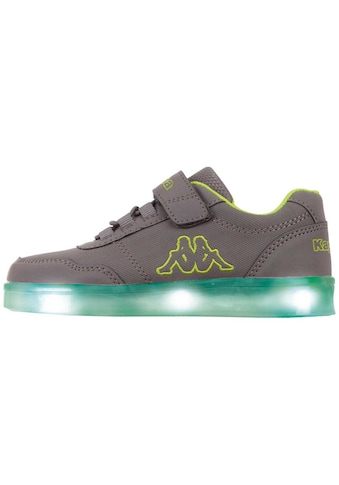 Kappa Sneaker »RENDON KIDS«, mit farbigen Leuchtelementen in der Sohle<br /> kaufen