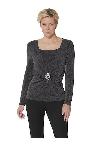 Lady Shirt im Glitzer - Dessin kaufen