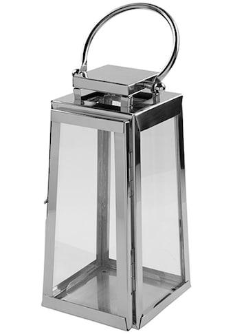Fink Kerzenlaterne »MONACO«, aus Edelstahl und Glas kaufen