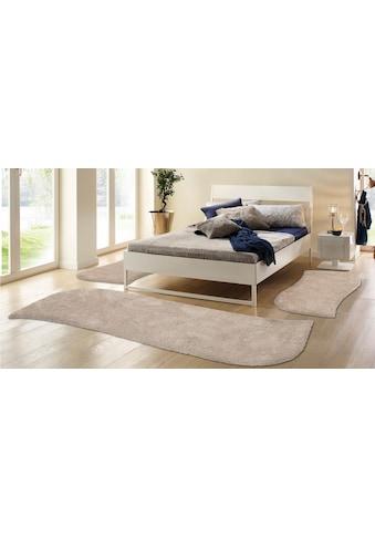 Hochflor - Bettumrandung »Desner« my home, Höhe 38 mm (3 - tlg.) kaufen