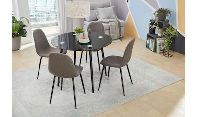 Jockenhöfer Gruppe Essgruppe, praktische, kompakte Esstischgruppe inklusive 4 Stühlen kaufen
