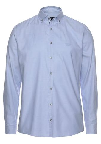 """Joop Jeans Langarmhemd »SLIM FIT """"Haven-W""""«, dezent schimmernde Optik kaufen"""