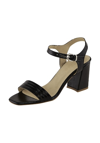 Sandalette mit dezentem Glanzeffekt kaufen