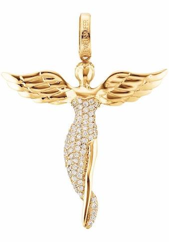 Engelsrufer Engelanhänger »Bright like a diamond, ENGEL MIT STEIN GOLD PLATED, ERP - ANGEL - SG« kaufen