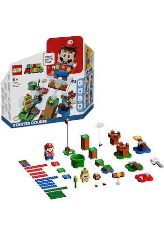 """LEGO® Konstruktionsspielsteine """"Abenteuer mit Mario – Starterset (71360), LEGO® Super Mario"""", (231 - tlg.) kaufen"""