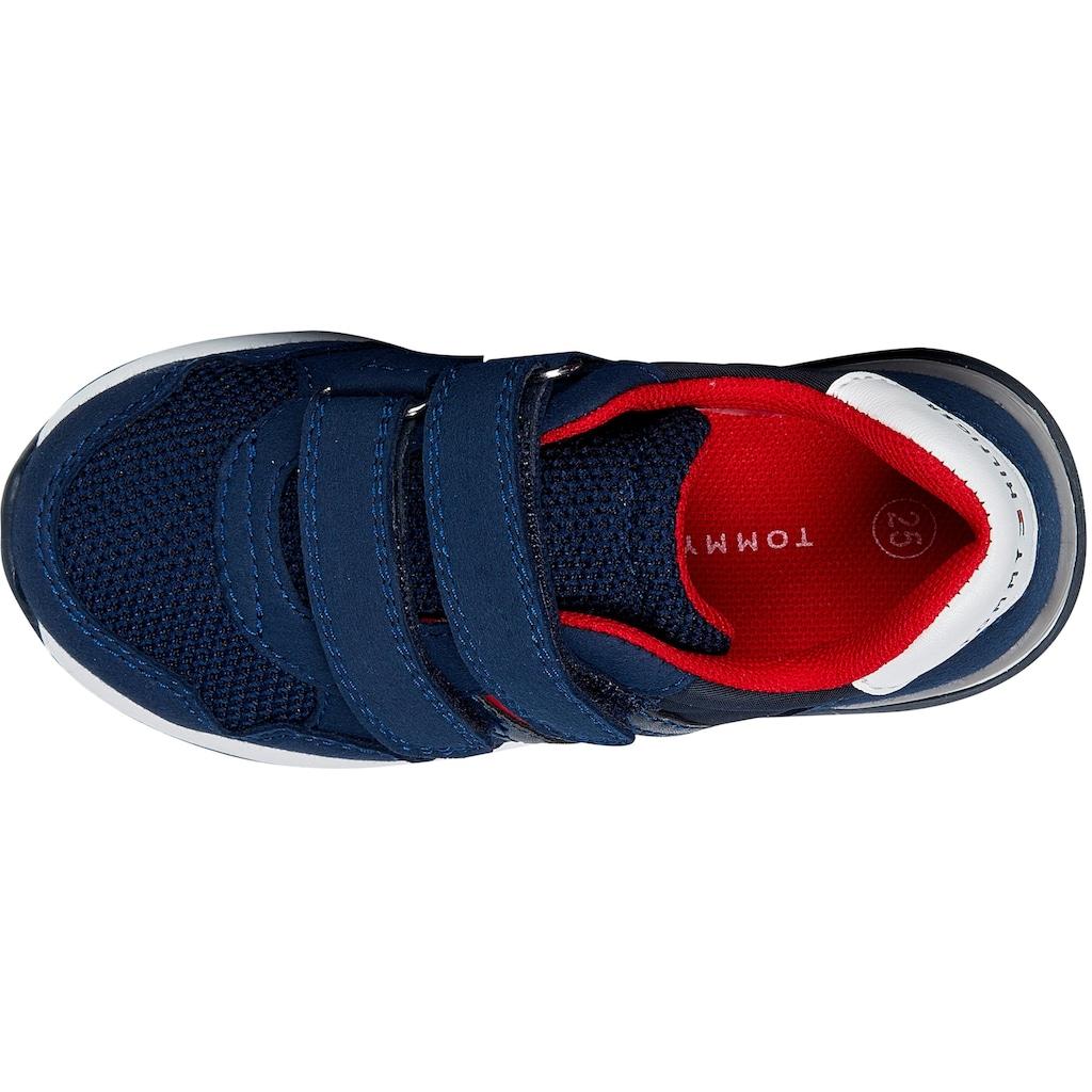 Tommy Hilfiger Sneaker »LOW CUT VELCRO«, mit doppeltem Klettverschluss