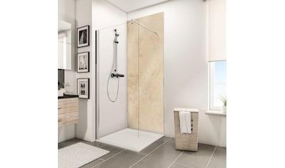 Schulte Duschrückwand »Decodesign«, Hochglanz, Kalkstein-hell, 100 x 210 cm kaufen